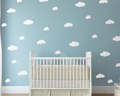This item is unavailable | Etsy Baby Boy Rooms, Baby Bedroom, Baby Boy Nurseries, Kids Bedroom, Room Baby, Cloud Bedroom, Bedroom Wall, Kids Rooms, Kids Wall Decor
