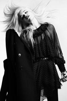 Saint Laurent Pre-Fall 2013 Fashion Show - Sky Ferreira