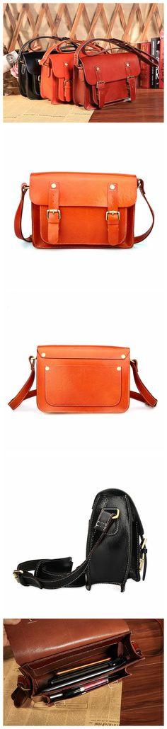 ROCKCOW Fashion Genuine Leather Woman Satchel Bag Cowhide Leather Crossbody Bag Women Messenger Bags 3147