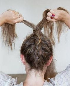 3 braided hairstyles you can REALLY do!