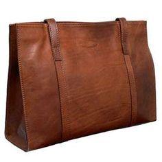 Large Tan Leather Bag