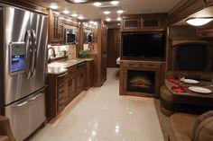 Luxury RV Kitchen ~ Entegra Coach Products