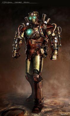 "emporioefikz: ""Steampunk Iron Man byTakashi Tan """