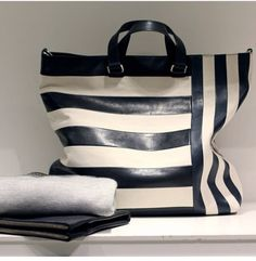 Spring 2014 Coach black stripe purse