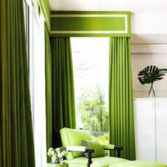This MOD and elegant shade of chartreuse is fabulous!