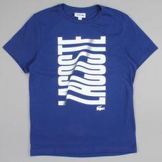 Lacoste Logo T-shirt Ocean Blue TH8025 00 JTD