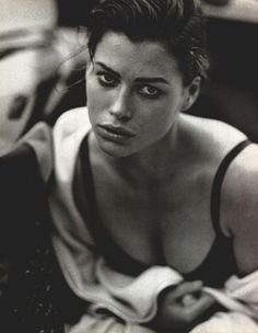 Carre Otis by Peter Lindbergh 1990