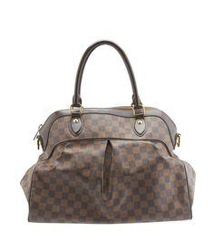 Louis Vuitton Trevi GM Damier Ebene Coated Canvas & Leather Satchel
