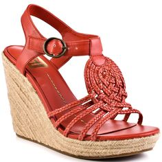 76.00$  Watch here - http://alitx8.worldwells.pw/go.php?t=32589303371 - Red Rope Wedges Women Sandals Platform Open Toe Casual Women Shoes High Heels Summer Style Platform Wedge Sandals Twist Braid 76.00$