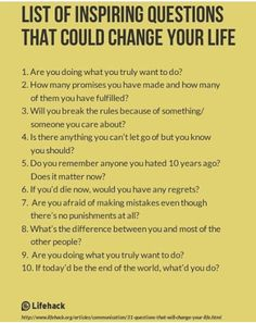 List of Inspiring Questions That Could Change Your Life. I use some of these inspiring questions with my clients in Life Shift Coaching! The Words, Life Questions, This Or That Questions, Deep Questions To Ask, Coaching Questions, Journal Questions, Interesting Questions To Ask, Amazing Questions, Psychology Questions