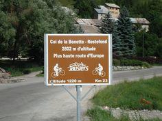 On the way to Col de la Bonette