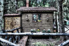 Ecco la casa delle fate nel cuore del Parco Naturale Selva Reale. PH Ennio Tullo