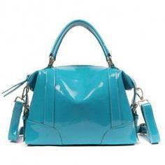 Zenness-New-Arrival-Genuine-Leather-Women-Fashion-Handbag-Hobo-Bag-Blue-0