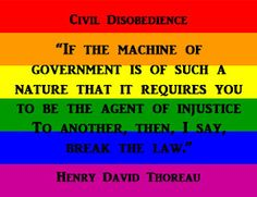 Henry David Thoreau, Civil Disobedience