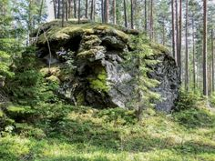 The Devil Rocks in Paasvesi The Devil Rocks of island Läpisyöksy in Paasvesi have still been feared and worshipped even in the 1900s. The largest of these rocks is full of special holes that form a giant face. It is said that they were carved by the gnomes. When the strong north wind blows into its holes, this extraordinary rock screams like pipe organs. People used to be so afraid to go on the island that if they did manage it, which was rare, they were sure to make a sacrifice to the…