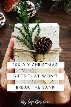 100 DIY Gifts: The Ultimate Handmade Christmas Gift Guide 100 unique DIY Christmas gift ideas. Handmade gifts are my favourite to give, they're unique, creative, personalized, and affordable. This list has gifts for everyone. Diy Christmas Gifts For Friends, Handmade Christmas Gifts, Christmas Gift Guide, Christmas Diy, Christmas Ornaments, Family Christmas, Handmade Gifts For Friends, Easy Homemade Christmas Gifts, Diy Christmas Gifts For Family