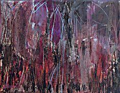 Abstract painting. Artist Jen Dacota. Urban Fall No.2