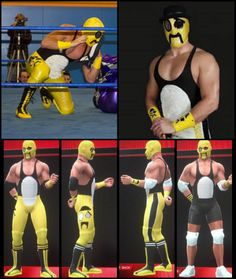 My Jervis Cottonbelly for WWE 2K14 for the Xbox360