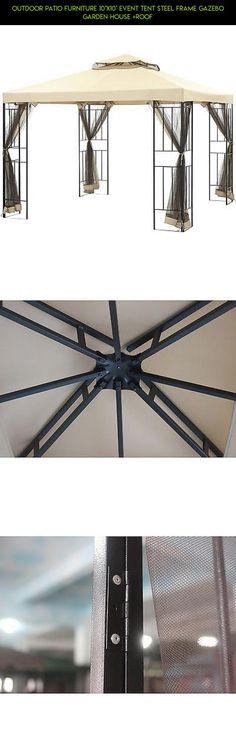 pine knob canopy 12 ft w x 10 ft d steel gazebo products
