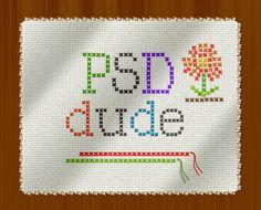 Create a Cross Stitch Effect in Photoshop - Photoshop tutorial | PSDDude