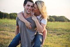 Cute engagement pic! :)