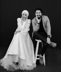 Wedding Photography Examples, Wedding Hijab, Muslim Couples, Vintage Watches, Diy For Kids, Marie, Islam, Pictures, Dresses