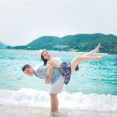 #nancyavon from www.bit.ly/jomfacial Sharing a light moment with your love dear! Ảnh cưới đẹp - Nha Trang (Hải Vân Ngọc Tuấn) by ostudio