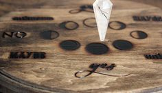 Moon Phases Pendulum Board by stoneandviolet on Etsy