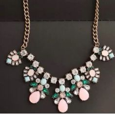 HOST PICK Colorful statement necklace Colorful statement necklace Jewelry Necklaces