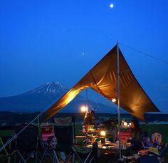 @the foot of Mt.Fuji