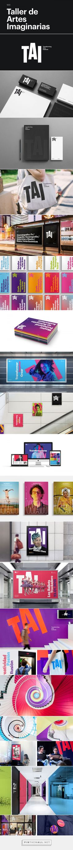 TAI - Transforming Arts Institute on Behance... - a grouped images picture - Pin Them All
