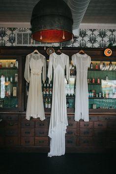 Vintage wedding dress inspiration | image by Melissa Marshall Photography