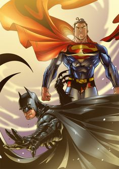 World's finest Superman Batman by ~16siddhartha