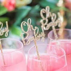Baby Shower Stir Sticks