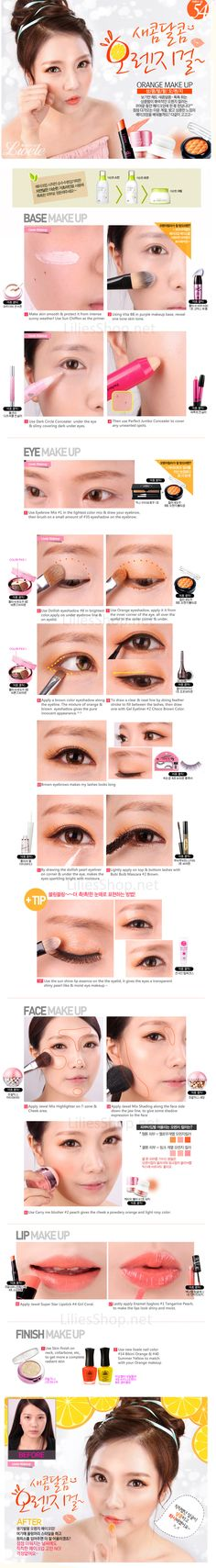 The Complete MakeUp Trechniques explained & visualizing in one picture-MakeUp Tutorials