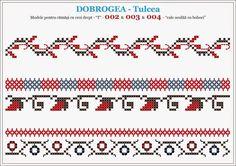 colectie de cusaturi romanesti - Căutare Google Cross Stitch Geometric, Cross Stitch Borders, Cross Stitch Patterns, Folk Embroidery, Embroidery Stitches, Embroidery Patterns, Knitting Patterns, Borders And Frames, Textile Design