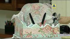 Santa Receita | Caixa em papel crochê por Jorge Pinto - 30 de março de 2016 - YouTube