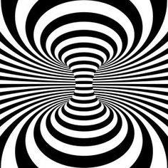 Optical Illusion Background.