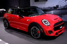 Missed the North American premiere of the MINI Electric concept? Stop by the Los Angeles Auto Show till to see the full MINI model line-up, including the new Ice Blue Edition! John Cooper Works, Hit The Floors, Custom Cars, Jeep, Mini, Model, Ideas, Car Tuning