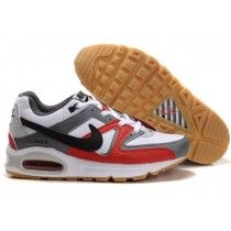 new arrival 42fe5 09f8a Nike Sprotsweer Air Max Skyline Blanc Noir Rouge Homme Soldes Chaussures De  Course-20