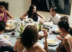 Dinner Party Etiquette: YES! Especially the bits about RSVPing and showing up on time. I am always flabbergasted considering how much work goes into a dinner party that people cancel late or show up an hour late! Dinner Party Games, Dinner Themes, Dinner Parties, Progressive Dinner, Party Guests, Cooking Classes, Manners, The Guardian, Party Planning