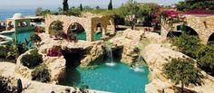 Le Meridien Limassol, Cyprus Luxury Spa Hotels, Limassol Cyprus, Hotel Spa, Mansions, House Styles, Home Decor, Decoration Home, Manor Houses, Room Decor