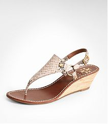 Tori Burch wedge sandal