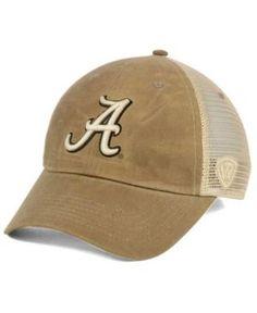 Top of the World Alabama Crimson Tide Mudd 2 Tone Mesh Cap - Brown Adjustable