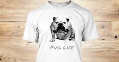 Show your PUG some love! This shirt is here for a limited time only and is meant for all you pug lovers!  You either hate or love pugs, it is time to share the love!  http://teespring.com/puglife2014