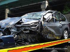 BMW X-Series X5 crashed