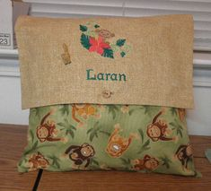 Pillow cover with embroidery Embroidery Library - Stitchers Showcase