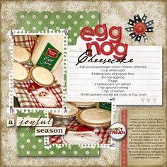recipe scrapbook page ideas - Google Search
