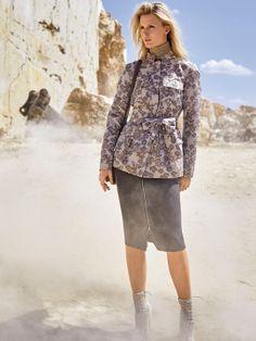 Жакет в стилі сафарі з коміром-стійкою   BurdaStyle.ua: Мода, Дизайн, Рукоділля, Викрійки