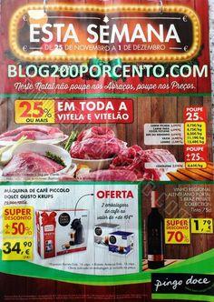 Antevisão Promoções Folheto Pingo Doce - de 25 de Novembro a 1 de Dezembro - Esta Semana